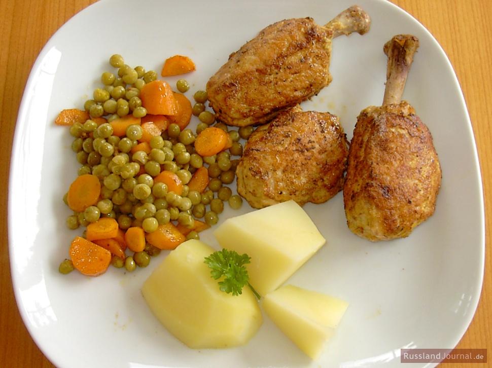Chicken Cutlet Pozharsky