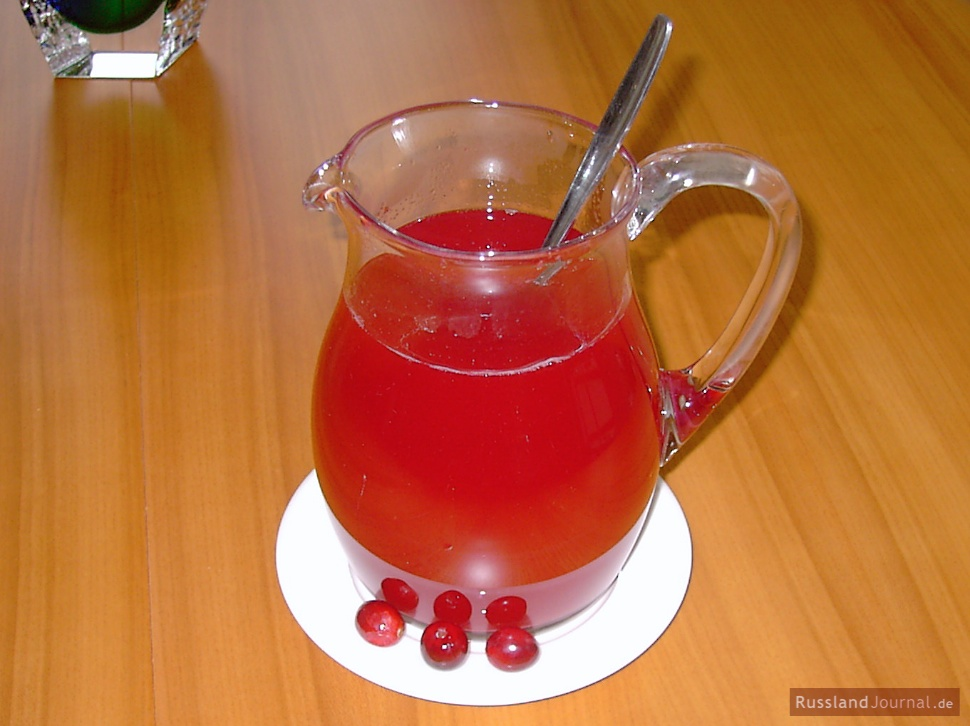 Cranberry Water