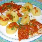 Fish in Tomato Sauce