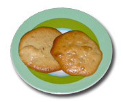 Spicy Cookies with Honey and Walnuts