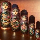Matryoshka with russian fairy tales