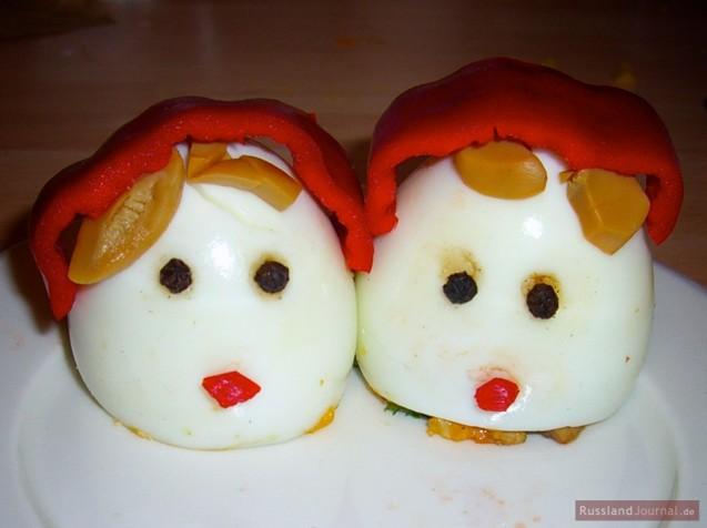 Matryoshka (Babushka) Eggs