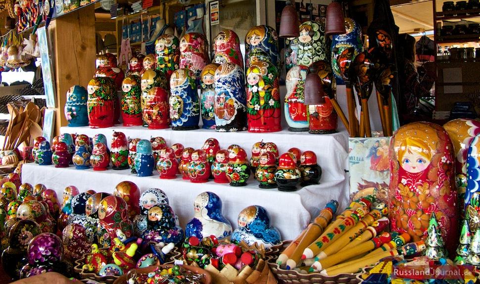 Matryoshka Souvenirs
