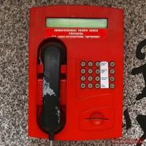 Phone box in Russia