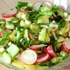 Potato Salad with Radish