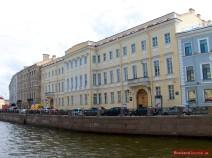 Pushkin Museum in St. Petersburg