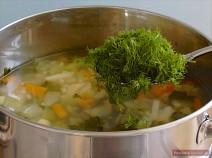 Add chopped fresh herbs.
