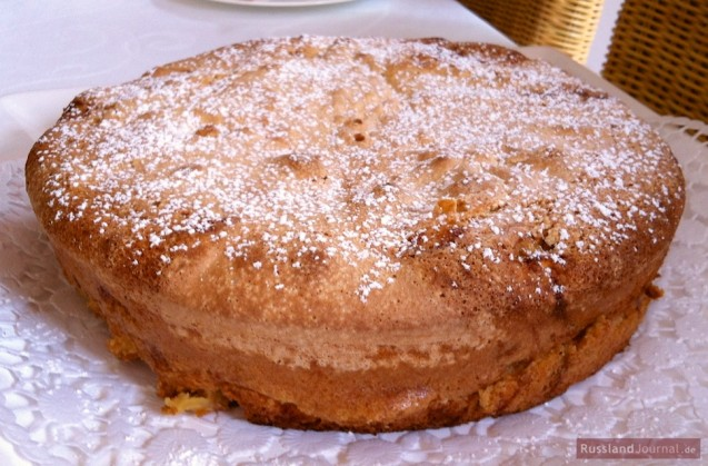 Apple Pie Sharlotka