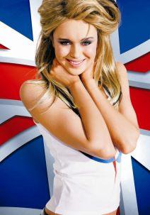 Мисс мира в образе Великобритании