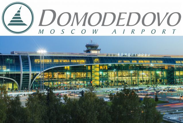Internationaler Flughafen Domodedowo in Moskau