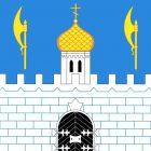 Flagge der Stadt Sergijew Possad