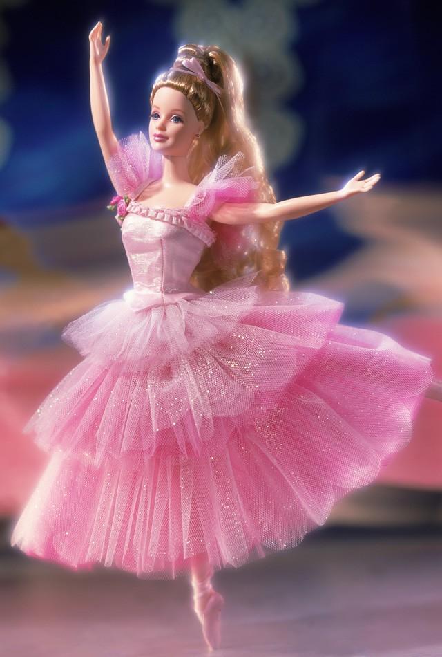 Barbie als Blume aus Der Nussknacker