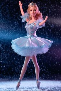 Barbie als Schneeflocke aus Der Nussknacker