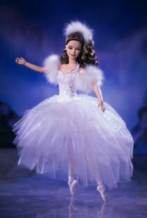 Barbie als Schwan Ballerina aus dem Schwanensee