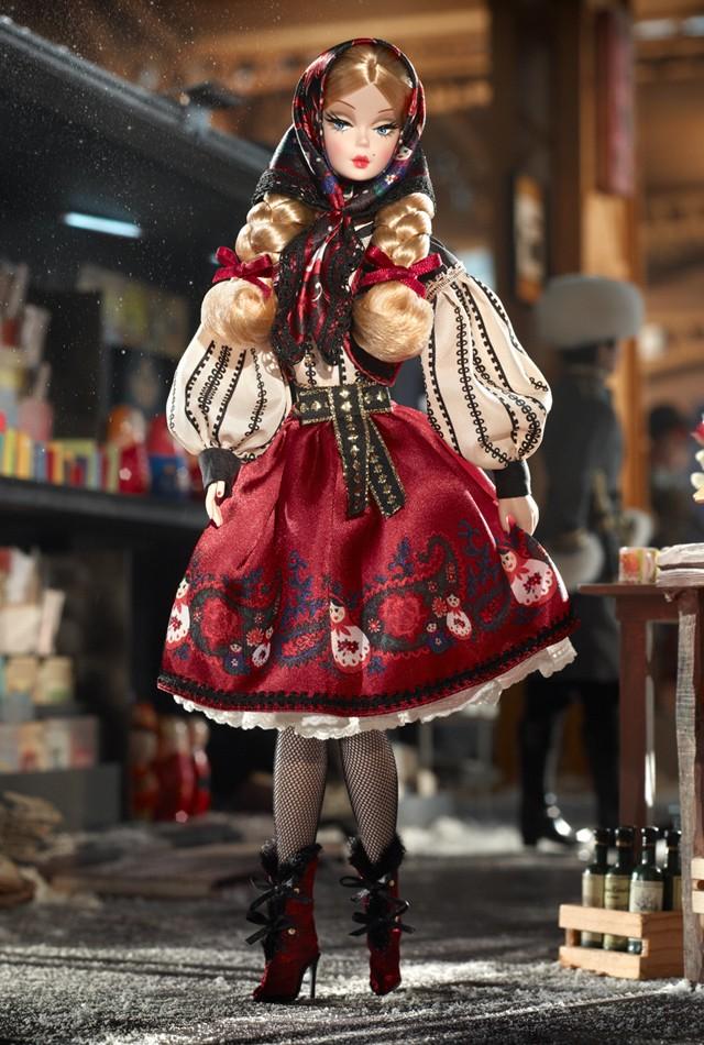 Mila Barbie Puppe aus der Russland Serie 2011