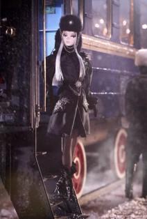 Verushka Barbie Puppe aus der Russland Serie 2011