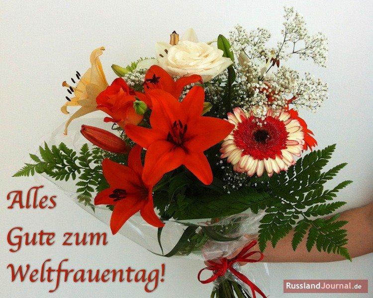 Alles Gute zum Weltfrauentag!!