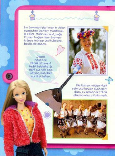 Entdecke die Welt mit Barbie, Russland Seite 1