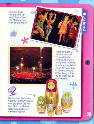 Entdecke die Welt mit Barbie, Russland Seite 4