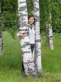 Birken in Russland