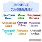 Russische Jungennamen