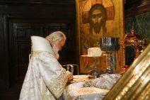 Der Patriarch im Festgewand
