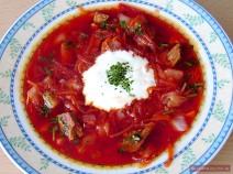 Russische Suppen und Eintöpfe