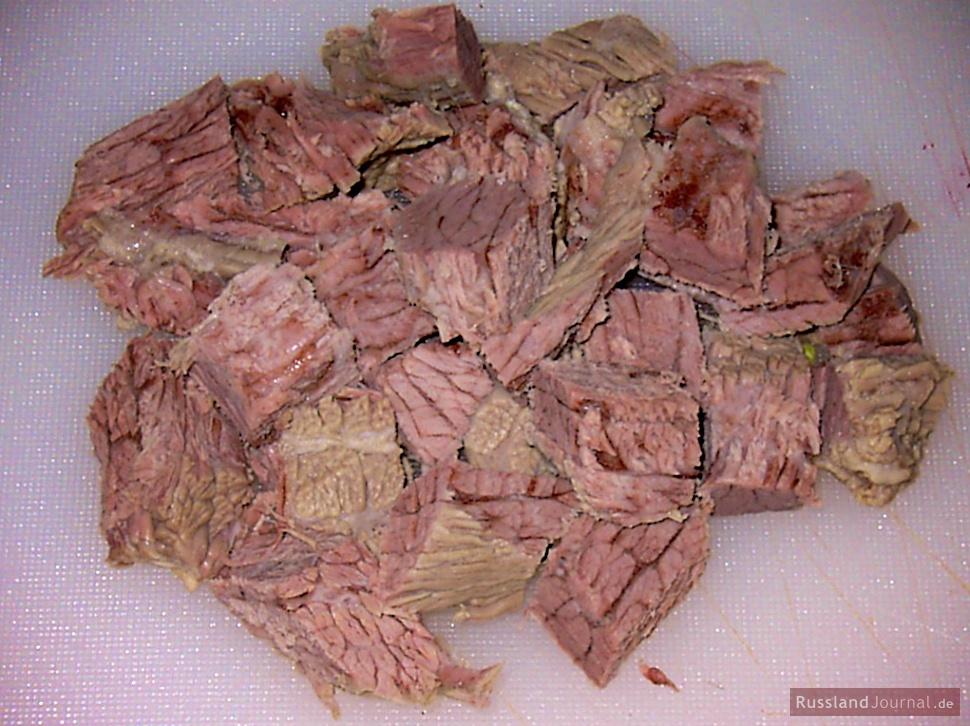 Fleisch für Borschtsch