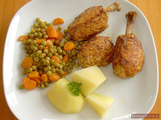 Hühnerkoteletts