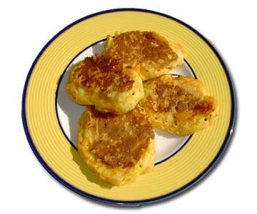 Kürbis Pfannenkuchen
