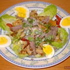 Salat Stroganoff