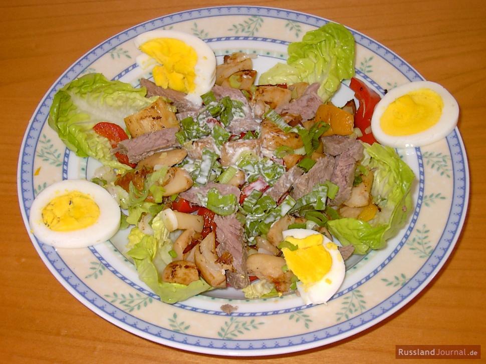 Salat Stroganoff – RusslandJournal.de