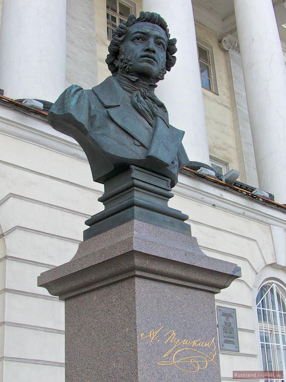 Alexander Puschkin Büste