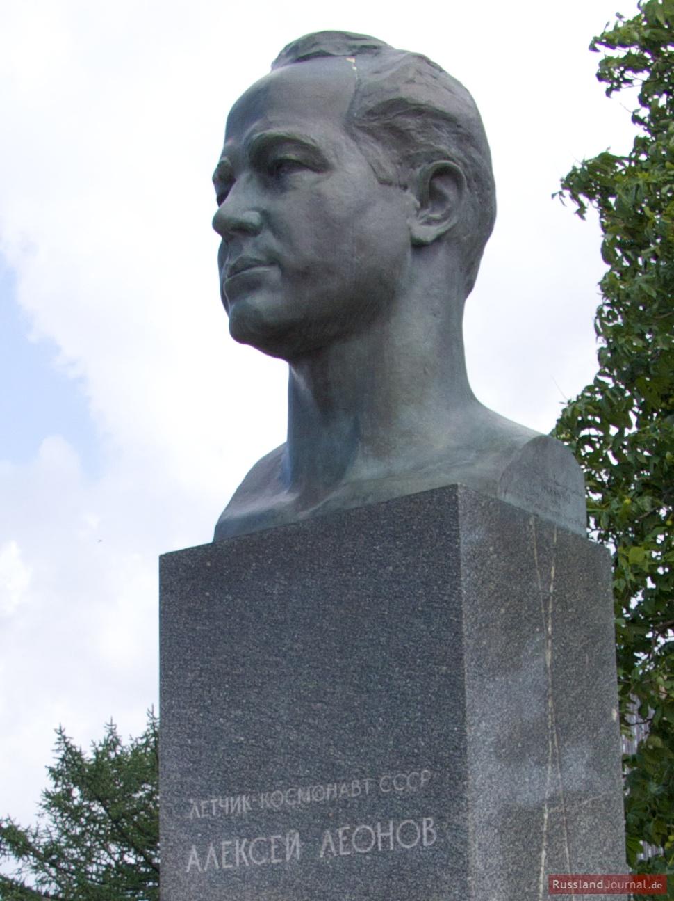Alexej Leonow (russisch: Алексей Леонов), ging als erster Mensch in den offenen Weltraum.