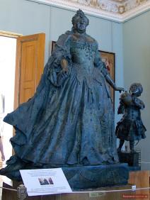 Anna Ioanowna mit Mohrenkind