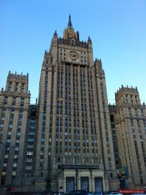 Außenministerium in Moskau