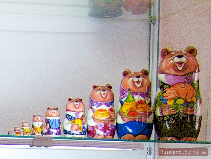 Bären-Matroschka