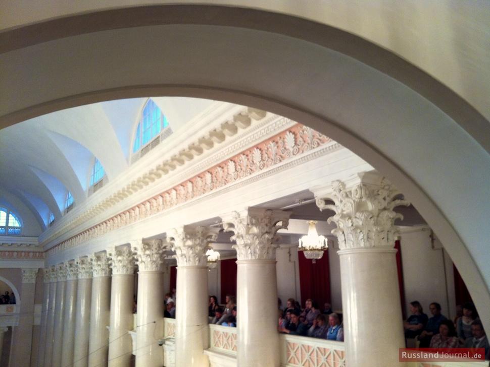 Balkone im großen Saal