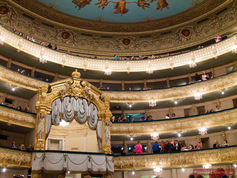 Balkone im Mariinski Theater