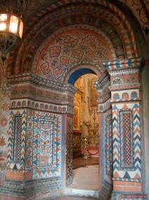 Blick ins Innere der Basilius Kathedrale
