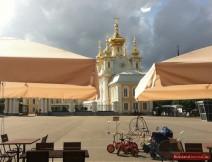 Blick auf die Kirche des Großen Palastes