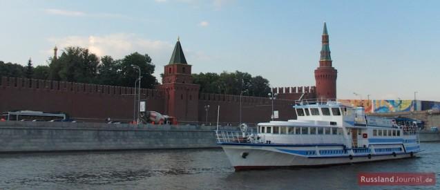 Bootsfahrt in Moskau