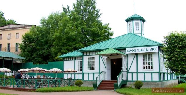 Café Belle Vue in der Nähe des Schlosses Marly