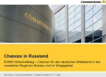 Commerzbank: Chancen in Russland