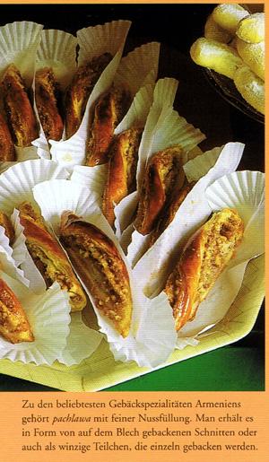 Armenische Süßspeise Pachlawa