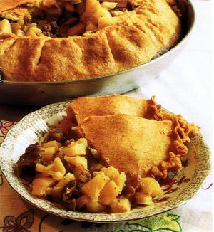 Tatarische Fleischpastete