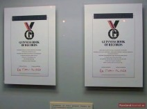 Guinness Buch der Rekorde Zertifikate