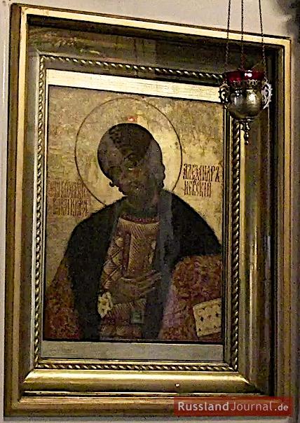 Ikone des Hl. Alexander Newski