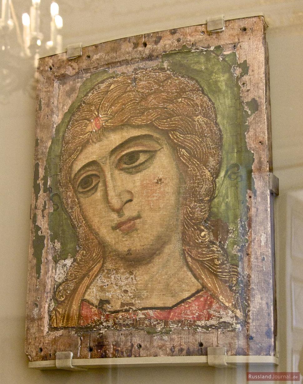 Älteste Ikone im russischen Museum