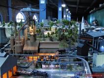 Industrieanlage in Miniatur